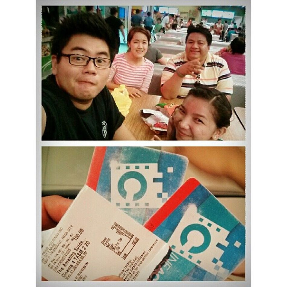 Day 32, Movie Date with these lovely people! Finally got the chance to unwind after countless toxic days in the ward though we were expecting more people, these ragamuffins served more than enough company. 100happydays HappyGlutton Amazingspiderman2 MOVIE Friends