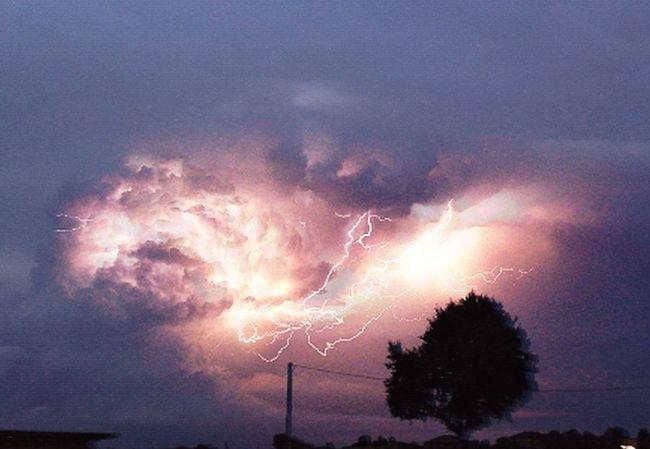 energy Sky Nature Lightning Summer