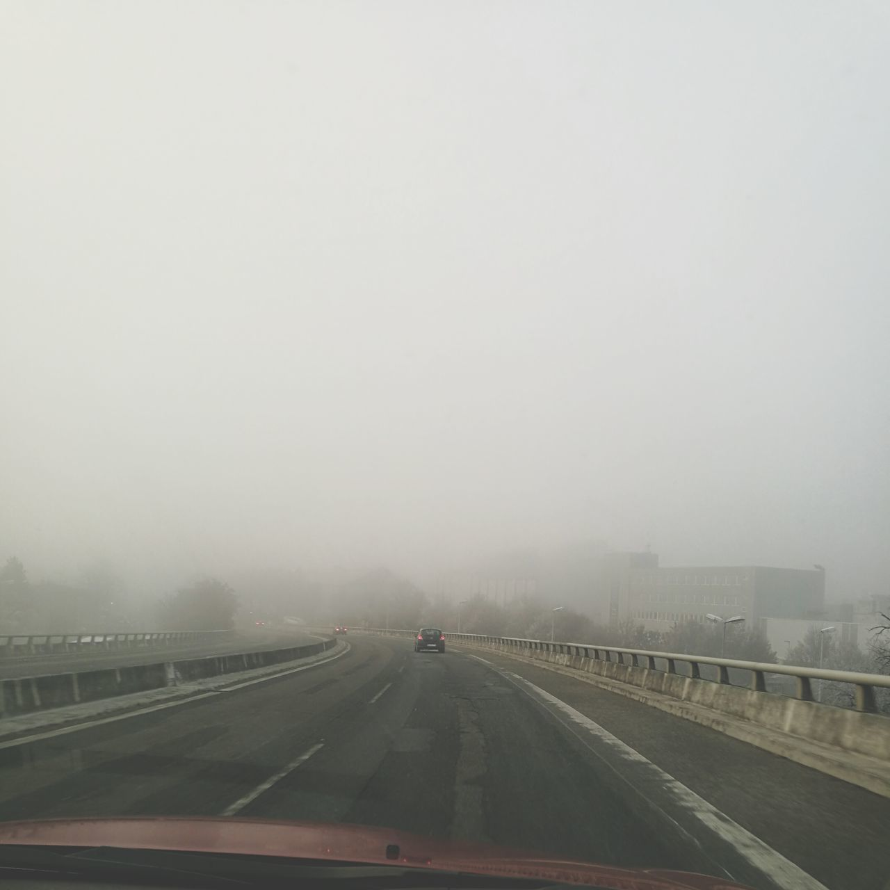 Transportation Fog Road Weather Rain Highway Car No PeopleAirport Runway Sky Outdoors Whiteroads MerryChristmas Day Nature Kristine19 Family
