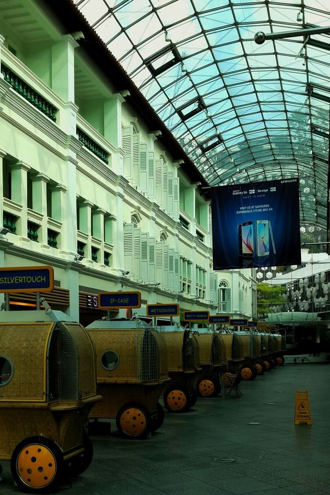 Old & new Shopping Architecture Interior Design Old Building  Heritage Singapore Building
