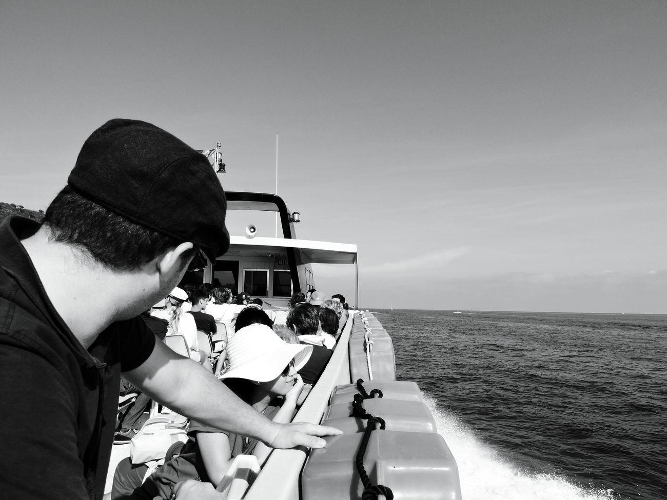 The Adventure Handbook Travelling Liguria Nikon Blackandwhite Enjoying Life Italy Relaxing Waiting Ferryboat