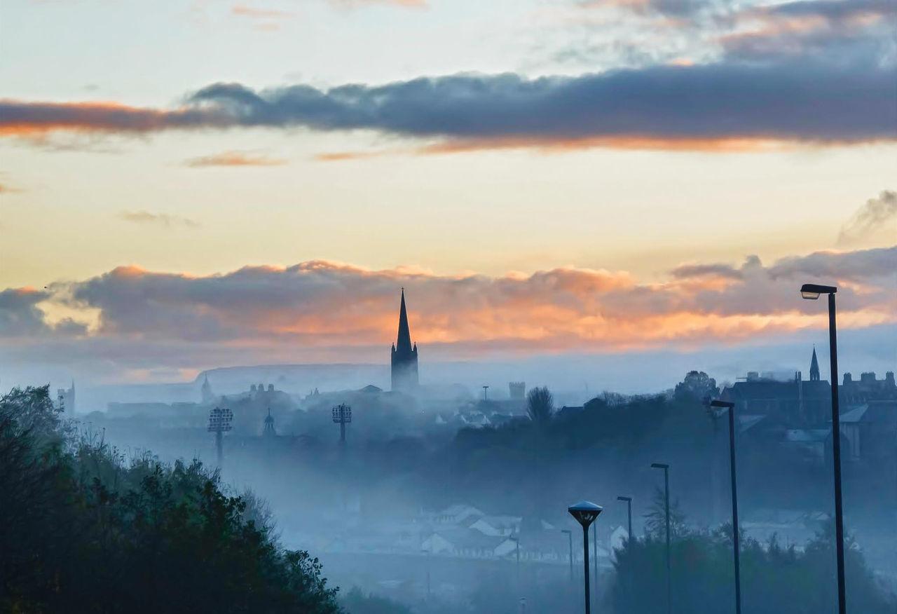 Derrylondonderry Misty Morning