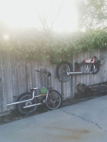 The Street Photographer - 2016 EyeEm Awards Garage Art Bicycles Motorcycles Trashart Check This Out