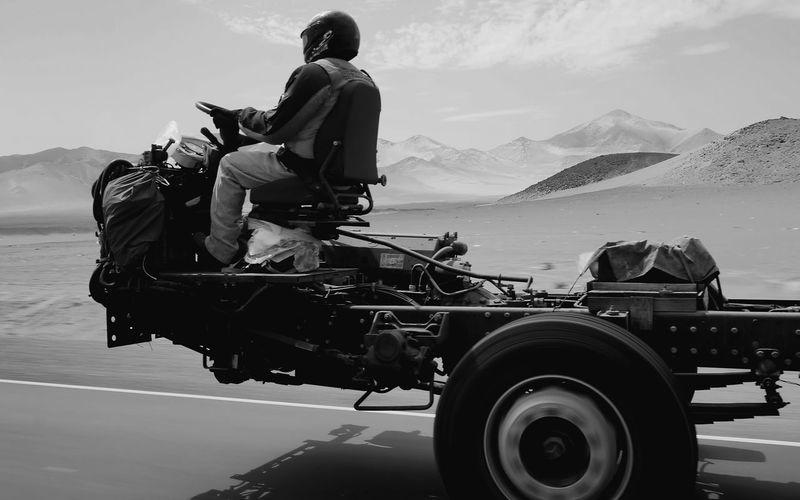 Airborne! Airborne Asphalt Asphalt Cowboy!!!! Blackandwhite Curiousmoments Driver's Seat Driving By Driving Me Nuts Fresh Air Highway Mode Of Transport Norte Panamericana Peru Surreal Truck Truckerslife Ghostrider