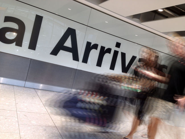 Airport Arrival Arrivals Baggage Blurred Motion EyeEm Best Shots - Long Exposure Indoors  Journey Motion People People In Transit Terminal Transit Travel Traveling