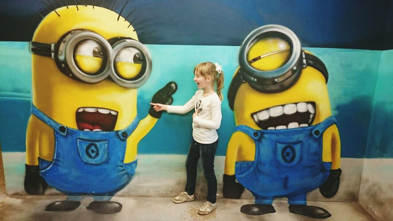 Minions Museum Illusion Museum Of Illusion Talkingphoto My Love My Baby