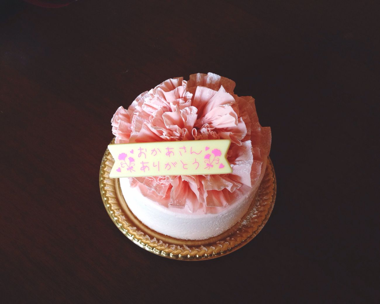 Cake Mother's Day Happymothersday EyeEm Best Shots Thankyou 母の日 ケーキ カーネーション Pink