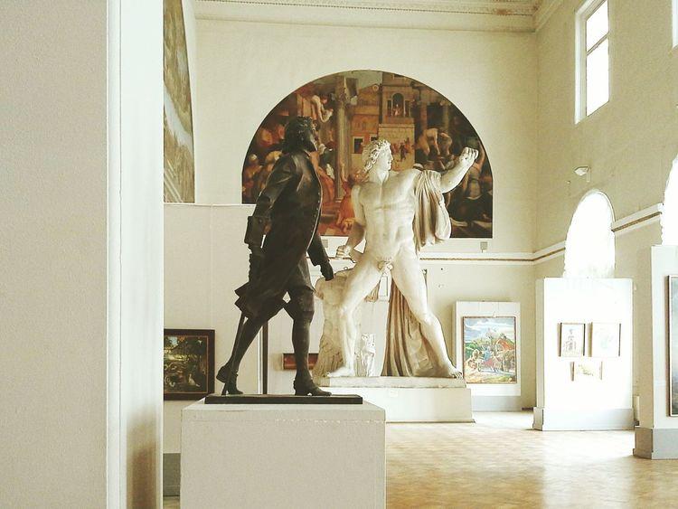 Visiting Museum Academyofart Statue Gorgeous Saint Petersburg