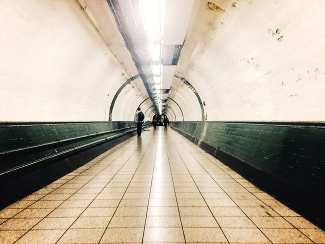 London Lifestyle The Way Forward City Life Passenger EyeEmBestPics Commuter Urban Exploration From My Point Of View Underground Station  London Underground Series Underground EyeEm Best Shots Lines Vanishing Point From Where I Stand IPhoneography Tunnel Indoors  Illuminated Street Photography Streetphotography