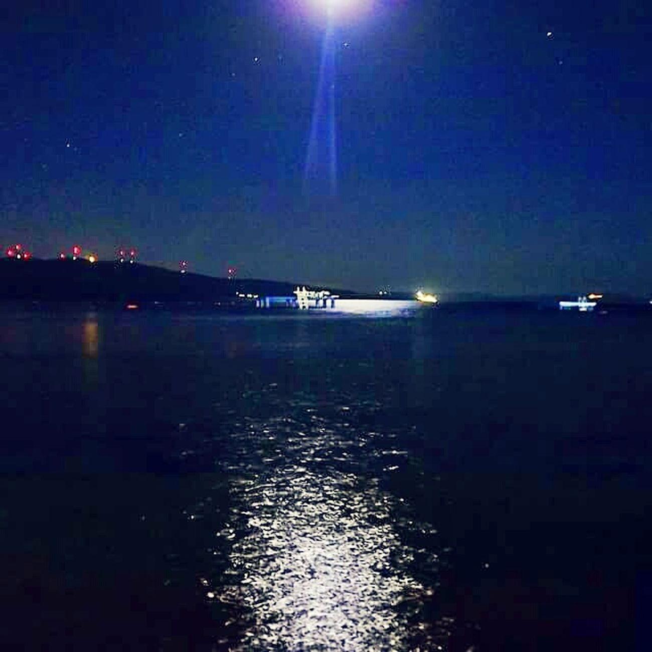 Phosphorescence Yakamoz Moonlight Night Gece Night Photography Sea And Sky Sky Sea Travel Photography Reflection Water Reflection Water Reflections Night Lights EyeEm Best Shots Waves