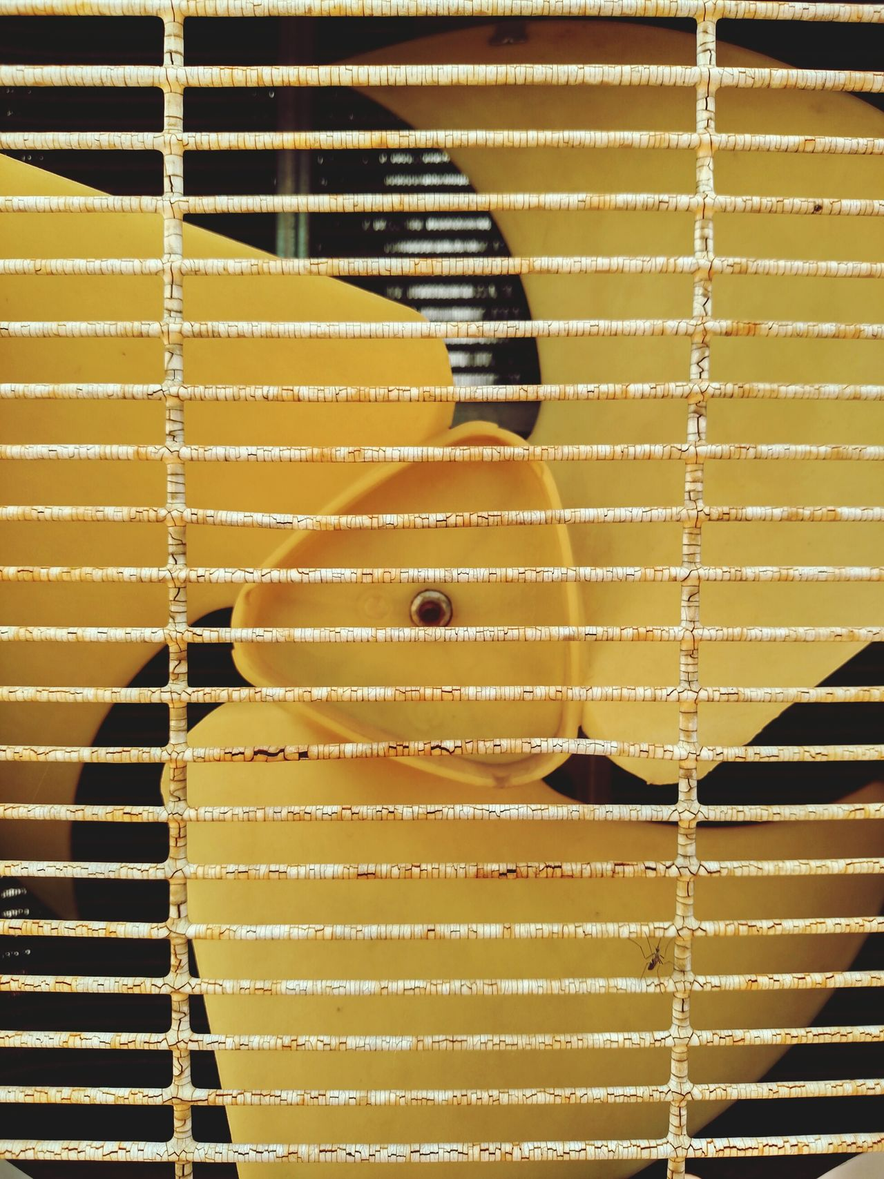 Metal Technology Close-up Close Up Technology Technology Photography Air Conditioner Compressor Unit Compressor Fan Rust Rusty Metal Grate Pattern Day No People Outdoors Mobile Photography Motorolaphotography Mosquito Yellow