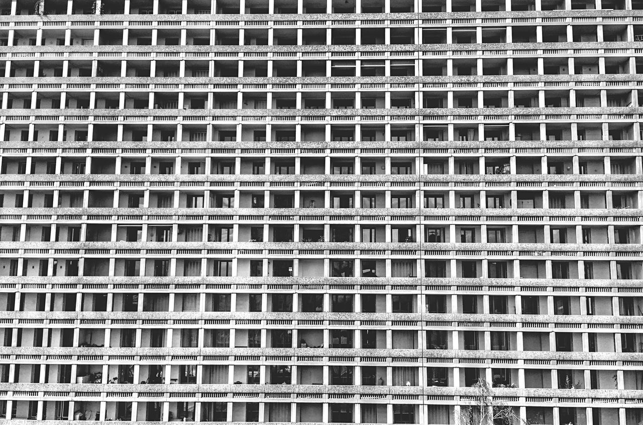 Residential District Residential Building Part Dieu District Block Of Flats Architecture Urban