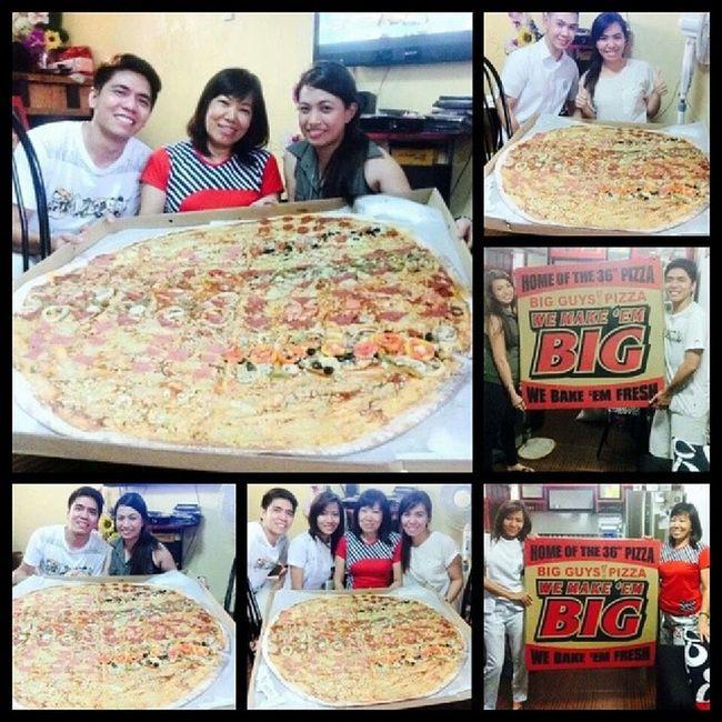 Happy birthday mama merly! Bigguyspizza Secondfamily Pizza Foodporn foodgasm happiness lovelovelove