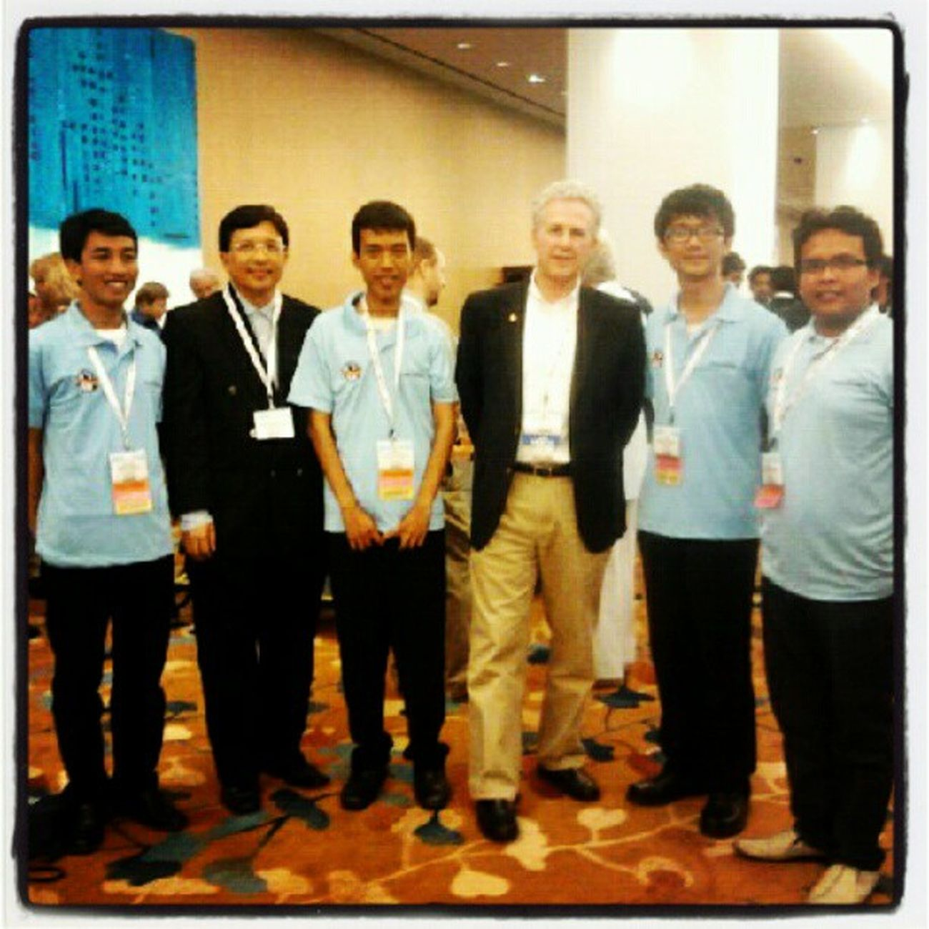"with president AAPG Mr. Edward A. ""Ted"" AAPG AAPGICE ICE2012 Singapore"