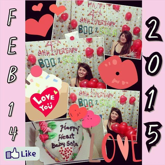 Valentinesfeb14 .21015 4thAnniversaryfeb15 .2015 LoveistheAir💓💋👅