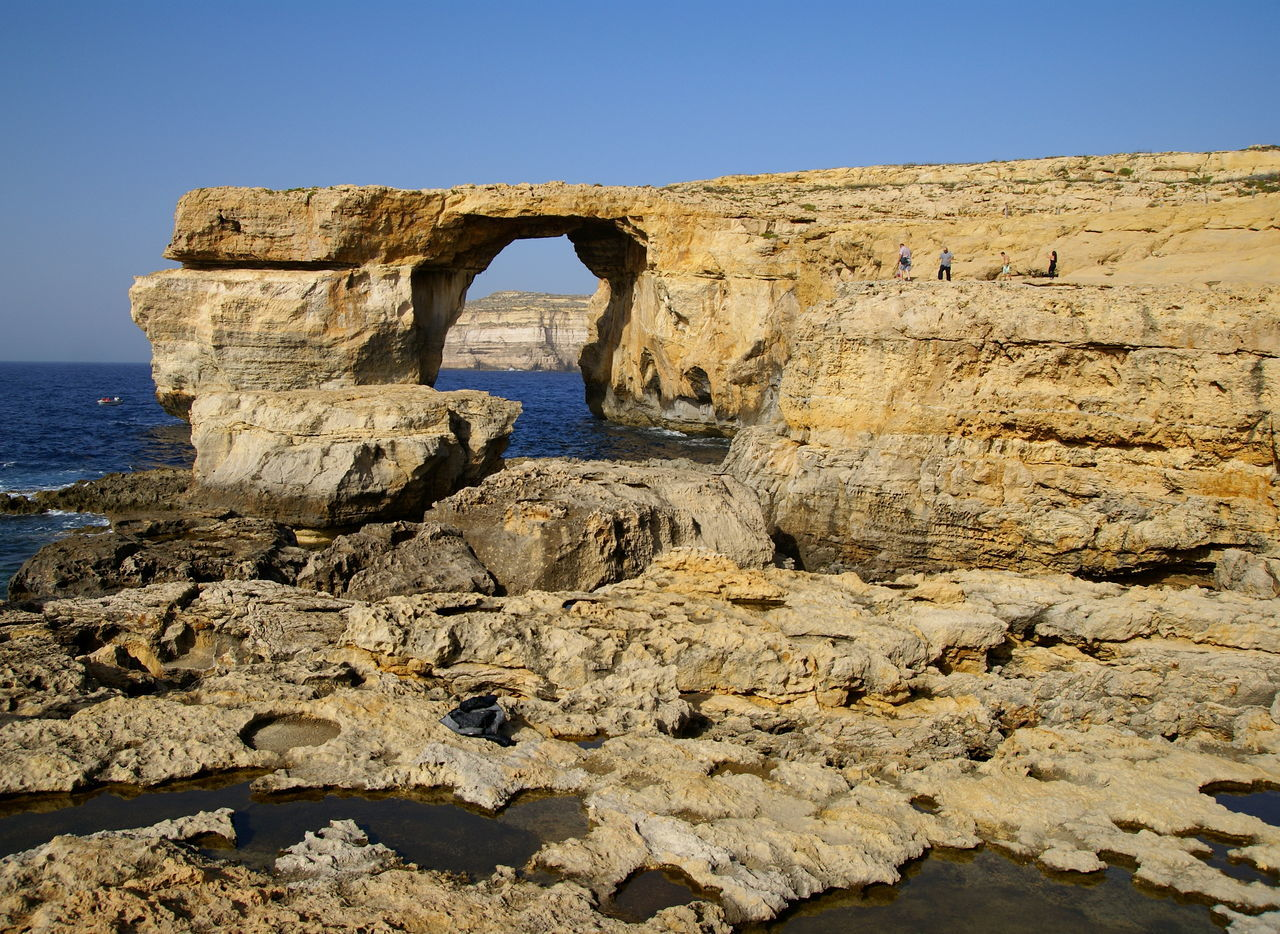 Azure Window (Tieqa tad-Dwejra ) , amazing rock formation in Gozo Island , was lost to the sea today, 8 March 2017. Amazing Azure Azure Window Azurewindow Beauty In Nature Blue Destination Europe Holiday Island Landscape Malta Malta Gozo Nature Places Rock - Object Rock Formation Sea Tourism Tourist Tourist Attraction  Travel Travel Destinations View Water