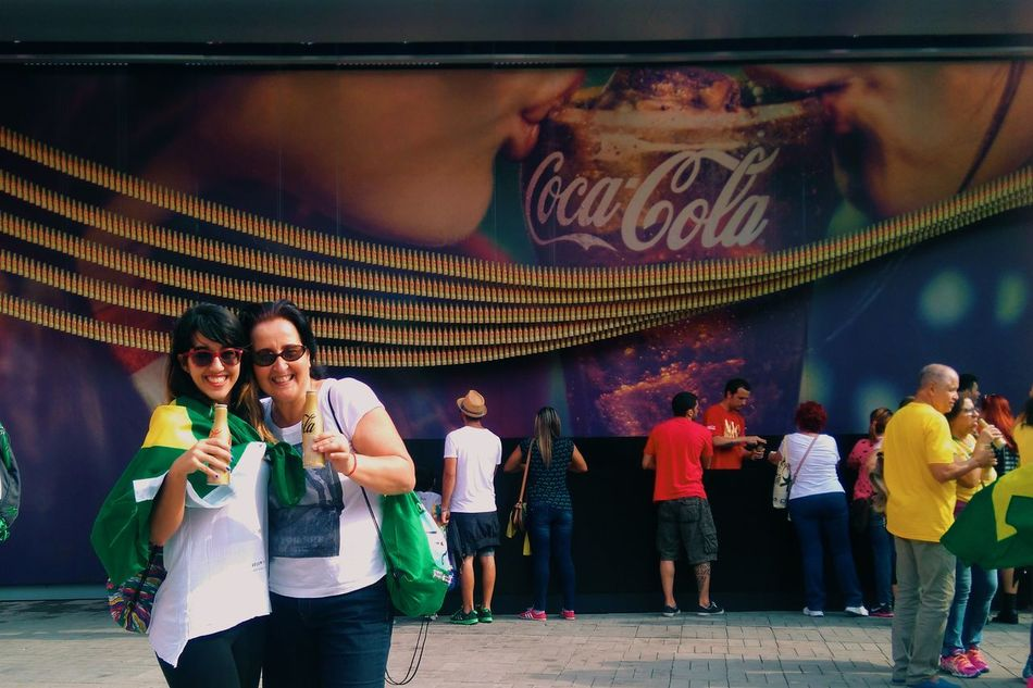 Vacation Smile Carioca Girl Happiness Enjoying Life Relaxing Check This Out Taking Photos Vscocam Mother Coca Cola