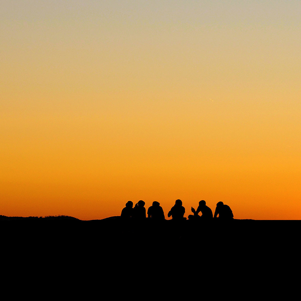 Silhouette Sunset Women Large Group Of People People Togetherness Beauty In Nature Men Friendship Teamwork Adult Nature Sunrise Sunset Silhouettes Sunlight Sunday Sunny Simple Photography Silhouettes Moments Live, Love, Laugh Life In Colors First Eyeem Photo