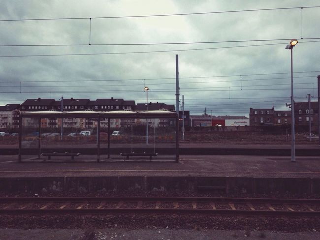 Railway | Février 2016 VSCO Vscocam City Urban Landscape Landscape Landscape_Collection Urbanphotography Trainstation