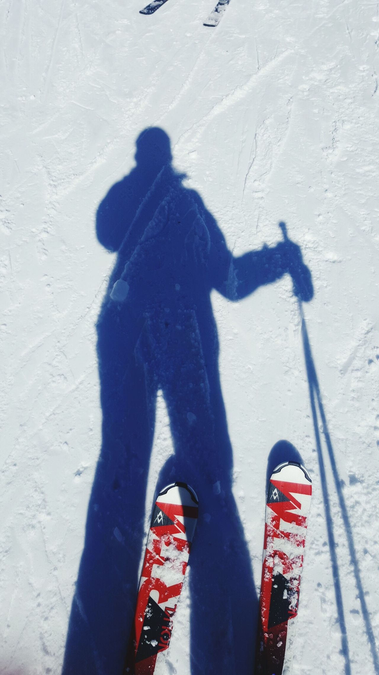 ski fun shadow light photo speed breath Shadow Sunlight One Person Leisure Activity Cold Temperature Snow