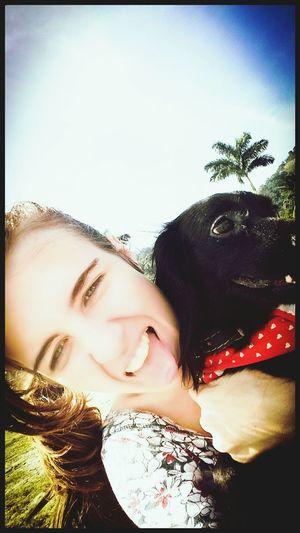 Living in the moment! Un perro es su verdadero amigo! Me sinto tão feeekiz com você em meus braços! ♡ Hello World Relaxing Dogs DogLove My Dogs Are Cooler Than Your Kids dogs BeHappy♡