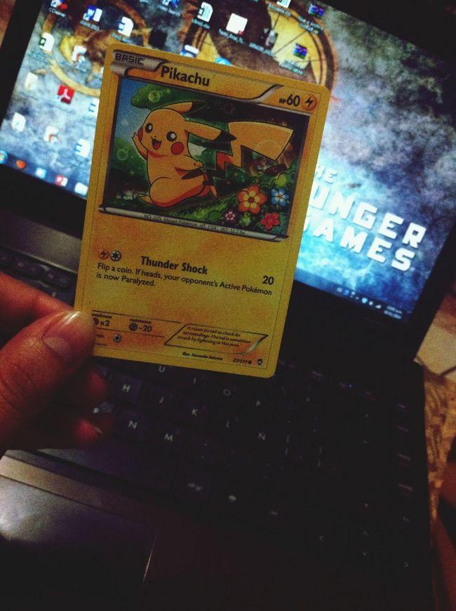 Pokémon Pikachu Card Gift