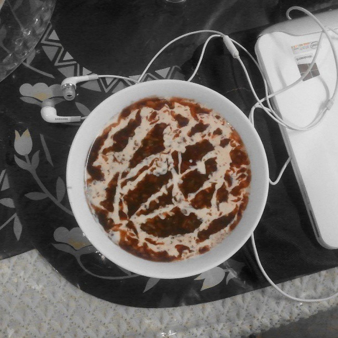 Pambansang meryenda sa Tag-ulan. :) Champorado Meryenda Rainy Season  food
