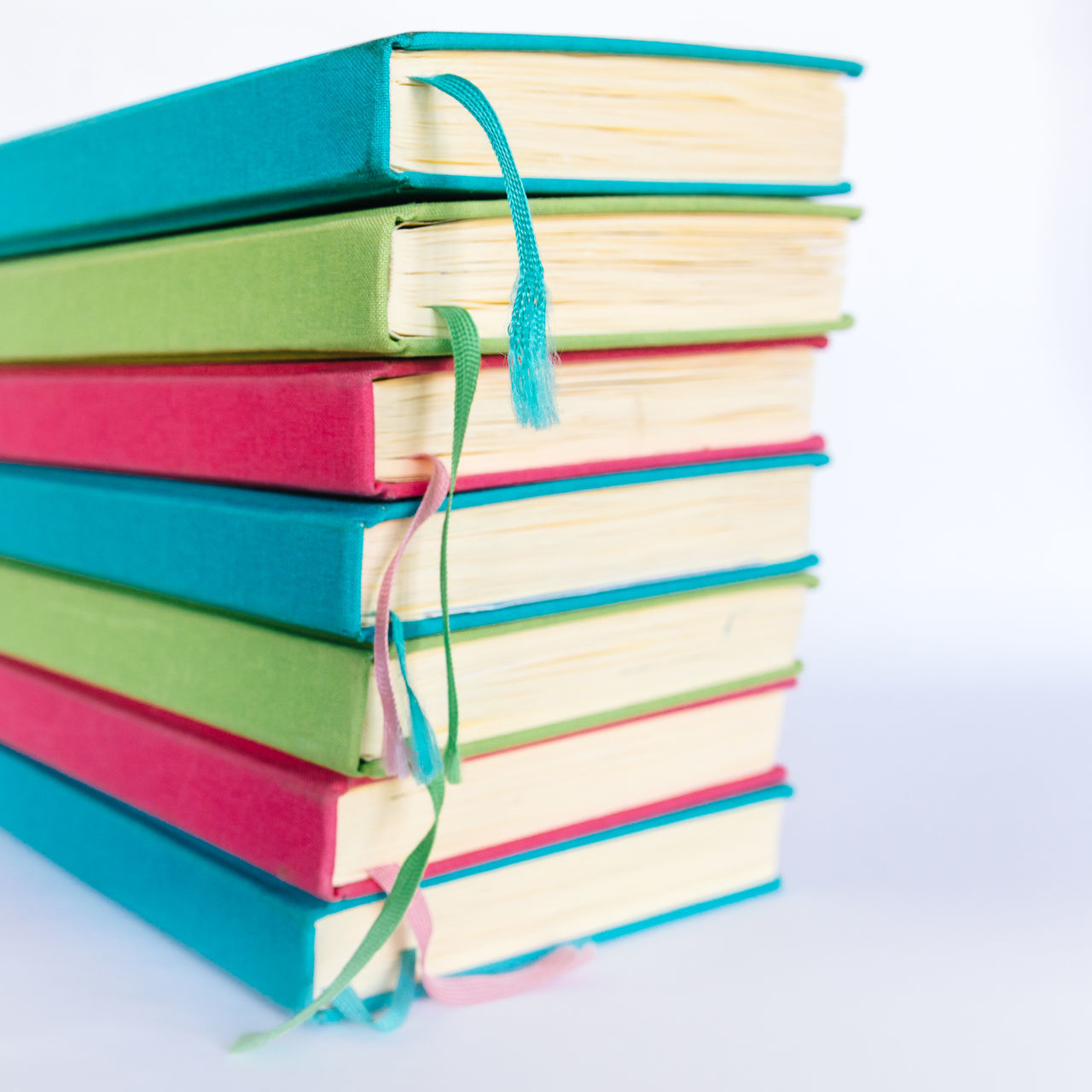 Colorful Books Blue Books Close-up Colorful Colors Cyan Day Education Educational Green Learning LearningEveryday Multi Colored No People Office Supply Pink Reading Reading Books Reading Time Stack Study Hard Study Time Studying White Background
