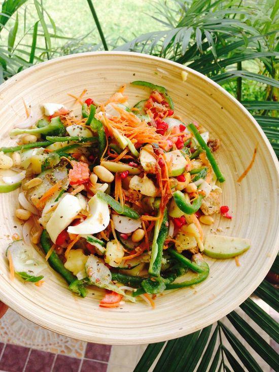 Salad Yummy Healthy Delicious ♡ Delicious Gym I Lovecooking Veges Mydish Healthy Food
