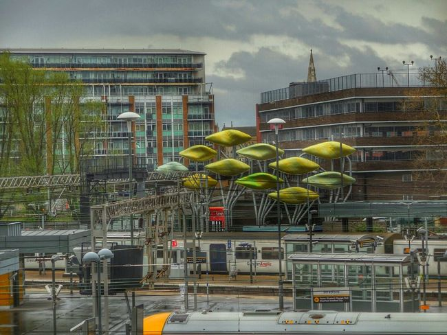 Railway Station Westfield Stratford Hdr Edit