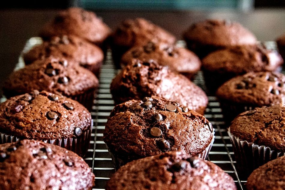 Freshly baked Muffins at home Muffins Chocochip Baked Singapore