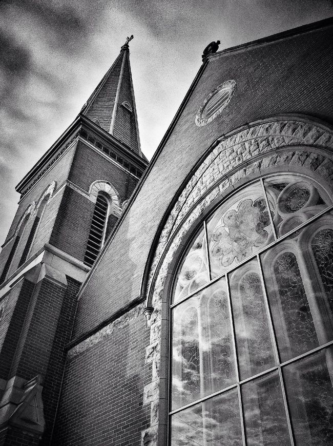 Architecture Blackandwhite Church Hdr_Collection