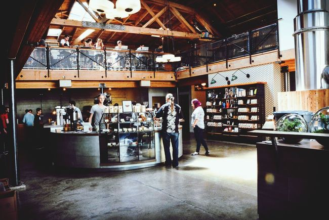 By far the trendiest coffee spot in San Francisco Sightglass 7thave Coffee EyeEm Best Edits Cappuccino Coffee And Hipsters Coffee And Cigarettes Nikonphotography