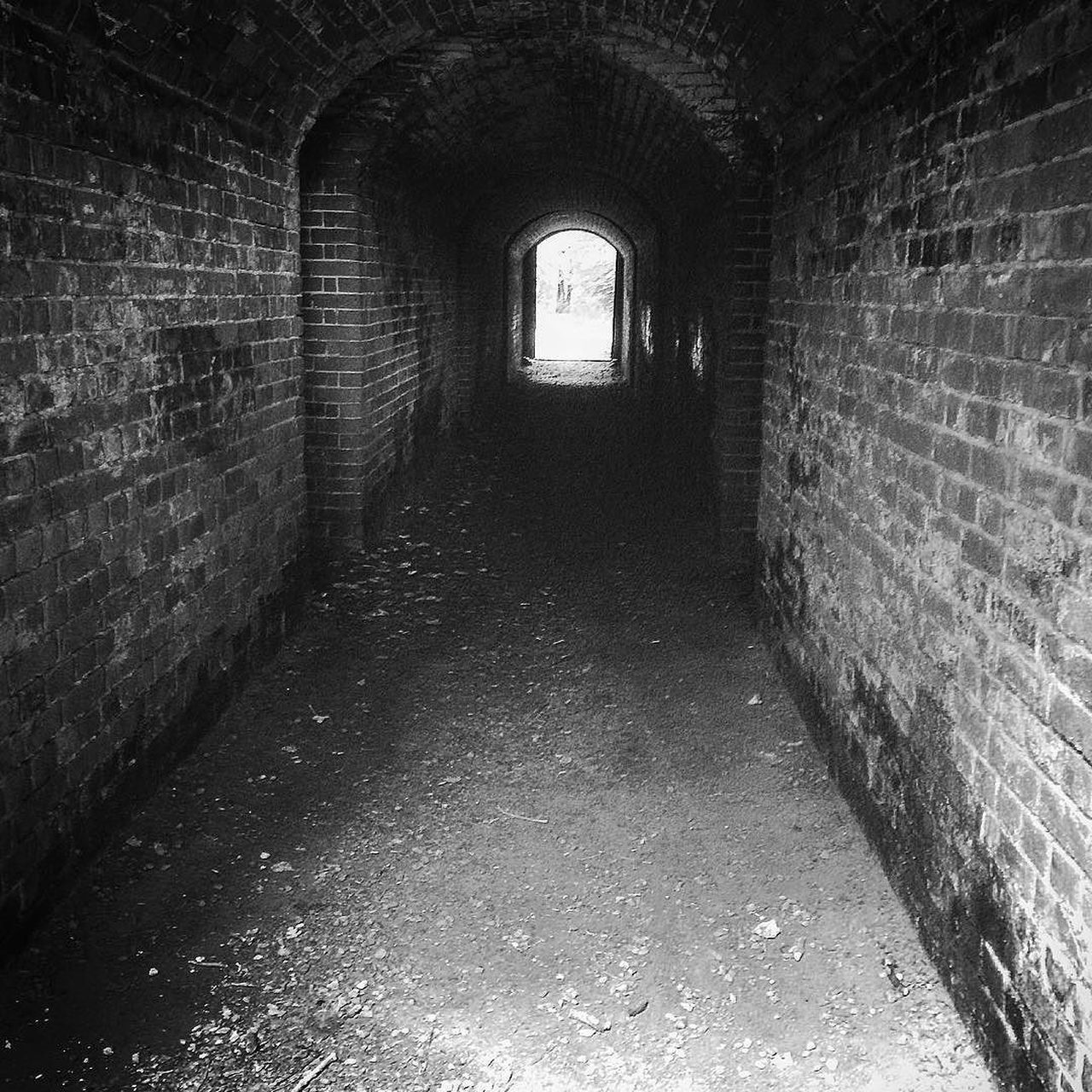 Hilsea Lines Rampart Tunnel B&W Ancient Monument Arch Architecture B&w B&W Collection B&w Photography Brick Built Structure Day Diminishing Perspective Empty Fortifications Hilsea Lines Hilsea Lines Ramparts No People Old Ramparts Tunnel