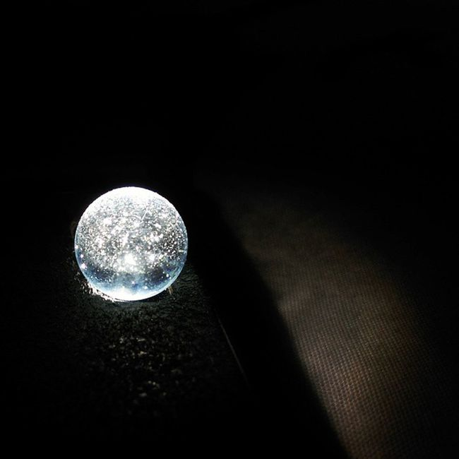 Imperfections make things beautiful Glassball Flashlight Lmimperfections