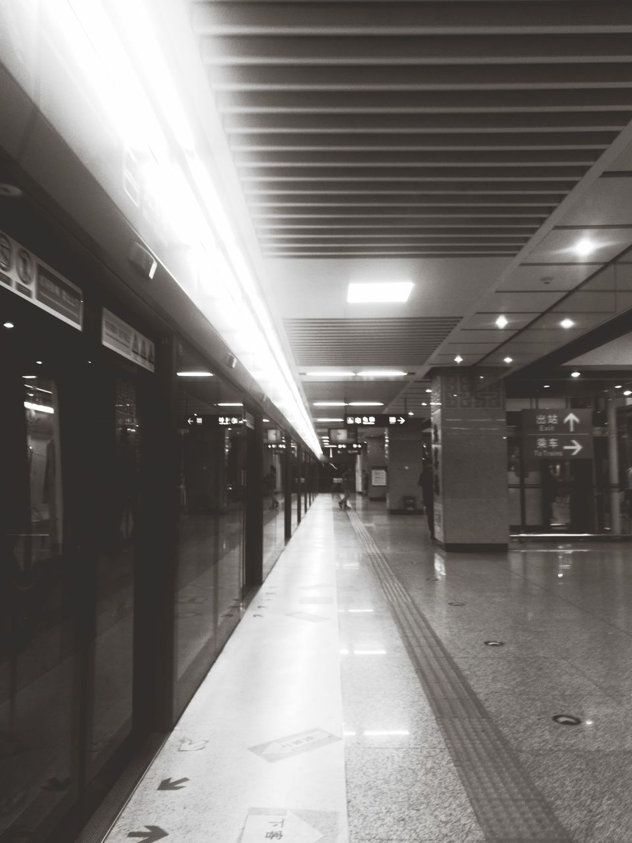 everyday 3 hours on subway this holiday City White And Black City Lifestyles Day
