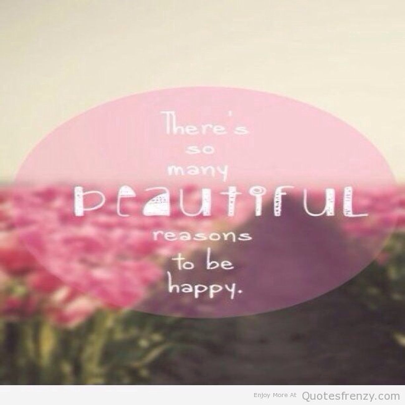 be happy?