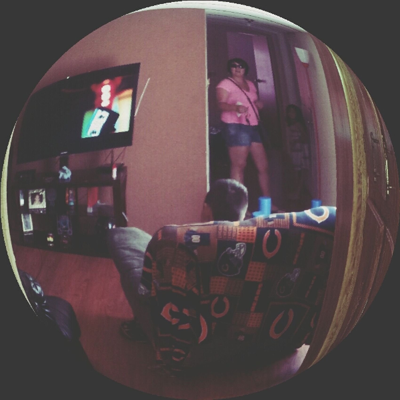 Trying out the good ol fisheye