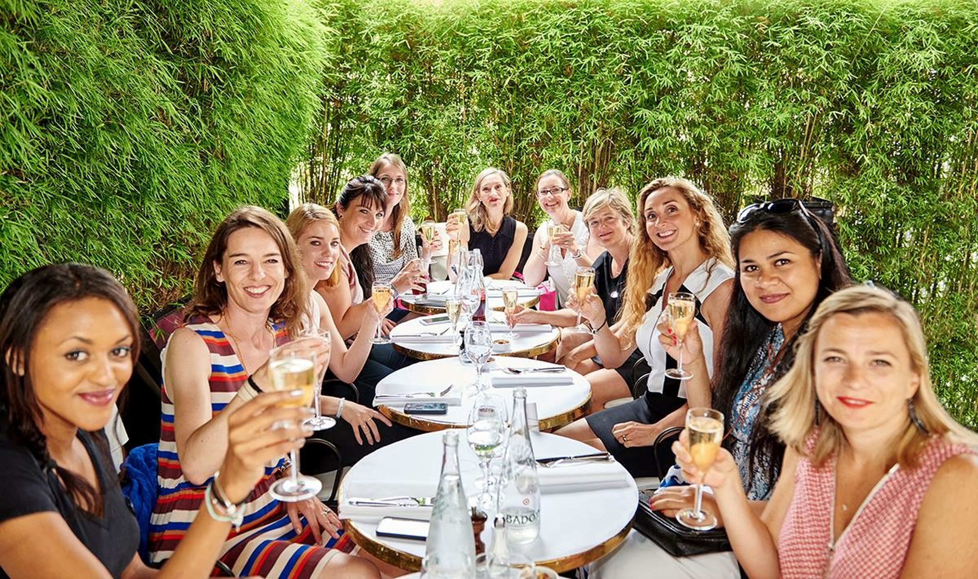 togetherness, lifestyles, leisure activity, bonding, friendship, happiness, enjoyment, fun, person, large group of people, young adult, smiling, looking at camera, love, young women, casual clothing, portrait