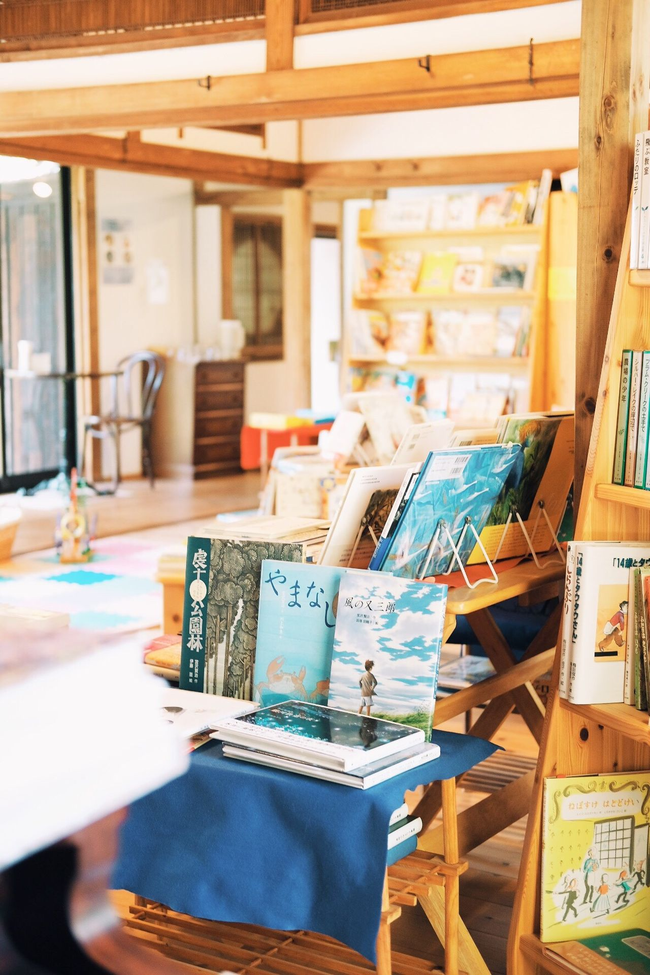 A bookstore in Fukuoka Indoors  Table Home Interior Day No People Books Book Store Japan Travel Travel Photography Wooden House Japanese Culture Japan Photography