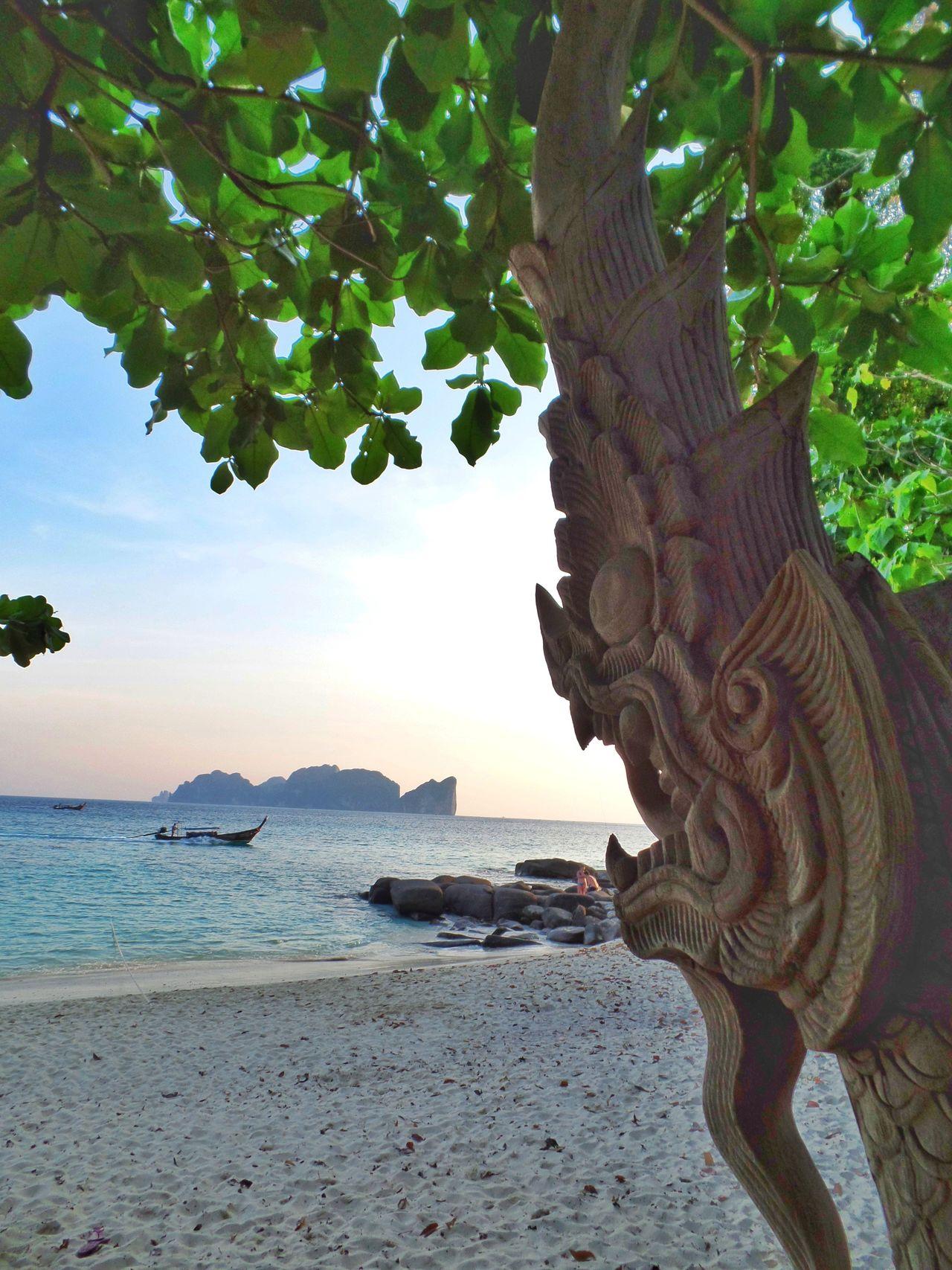 Nature Sea Water Day Beach long beach Thailand phiphi island Travel Destinations Arte art Outdoors The Great Outdoors - 2017 EyeEm Awards
