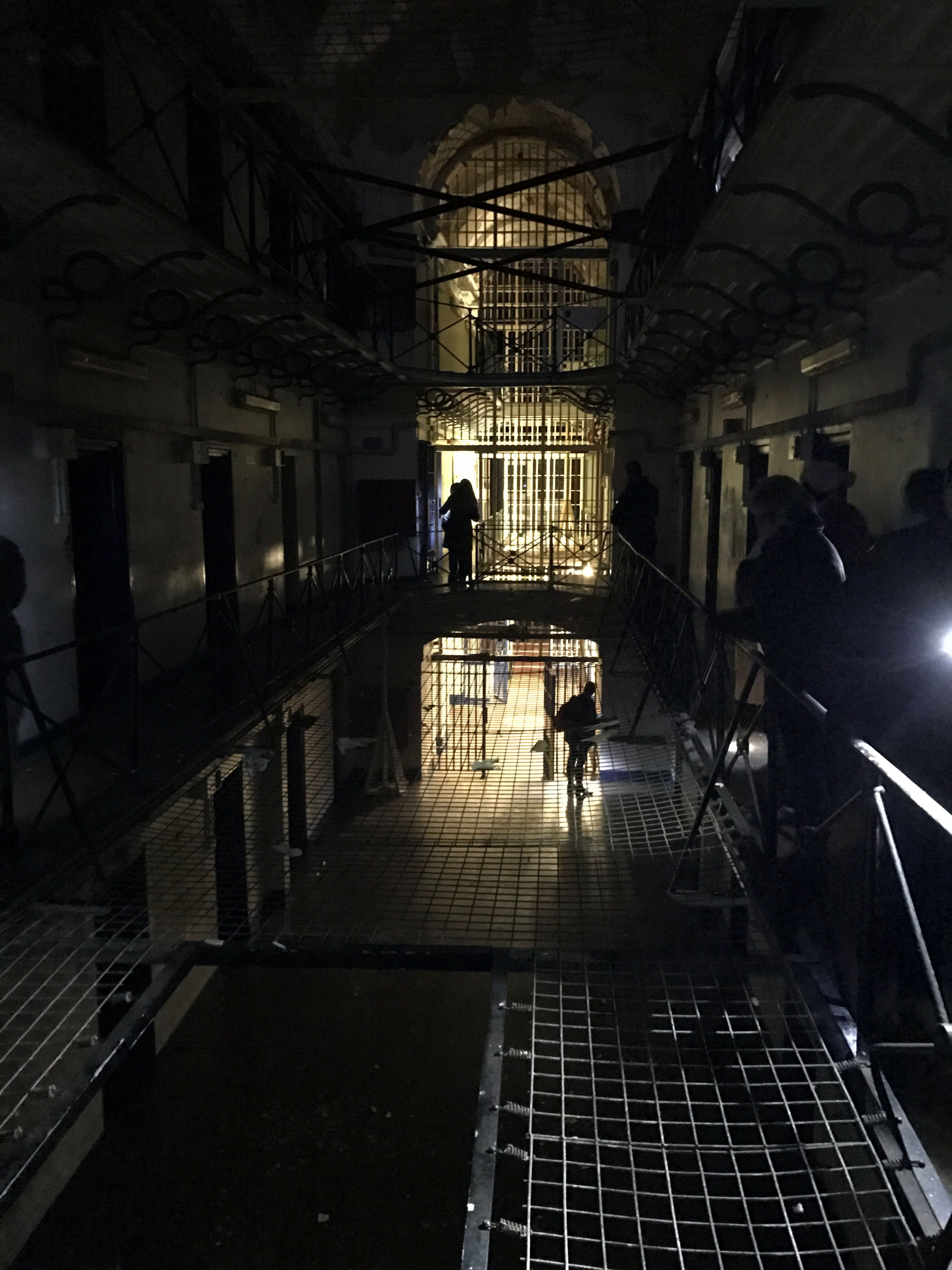 H.M. Gloucester Prison Indoors  Real People Architecture Nightphotography Ghost Hunting