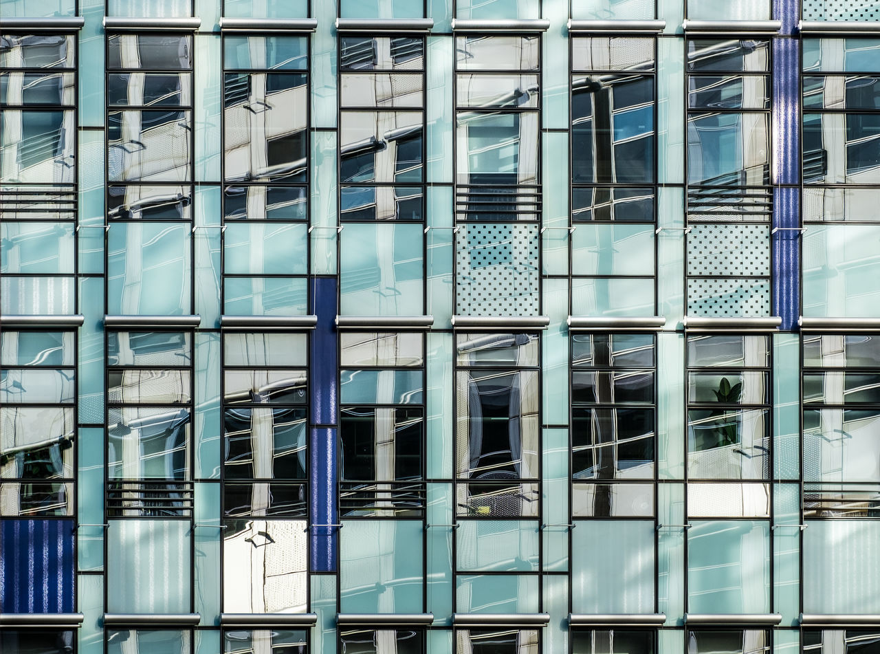 Facadereflection Built Structure Architecture Backgrounds No People Window Berlin Photography Architecture Architecture_collection Building Exterior Architectural Detail Reflection Reflection_collection Façade Urbanphotography Architecturelovers Cityexplorer Minimalism Building Feature Reflections In The Glass Facade Pattern
