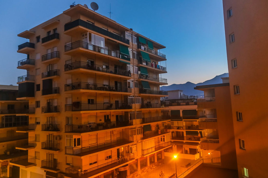 Early morning in Fuengirola, Spain... Day Break Daybreak Early Morning Early Mornings FUENGIROLA  Fuengirola Spain Fuengirola Spain Fuengirola Sunrise Hotels Hotels And Resorts Mountain Mountain Range Mountain View Mountains Nice Light Nice Lighting Spanish Hotels Spanish Resort Travel Travel Photography Travelling