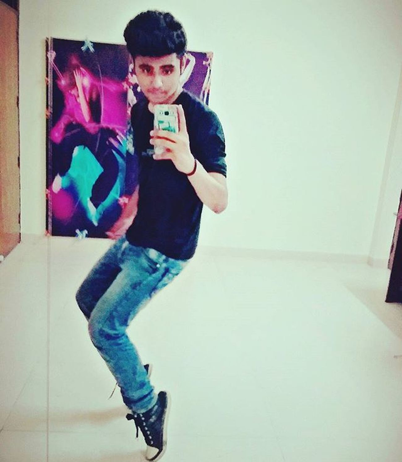 SELFIE_IN_MJ_STYLE International Dance Day DANCE_WORKOUT