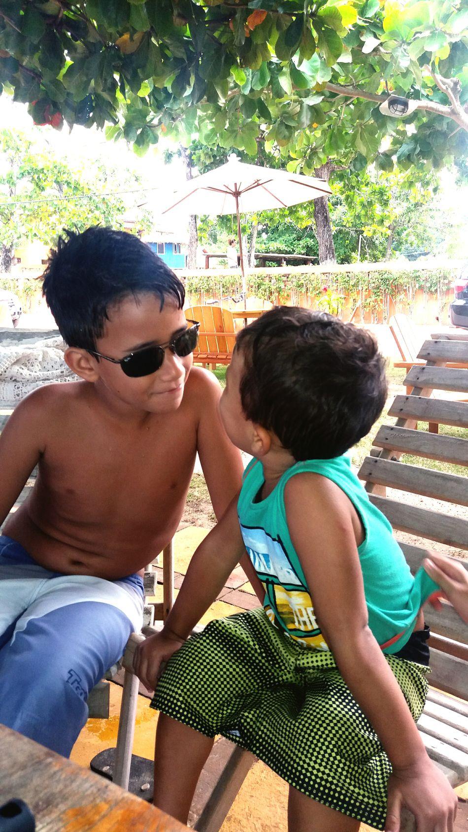 Hello World Relaxing Bahia/brazil BrasilSensacional PradoBahiaBrasil Simplicity Simply Beautiful Children