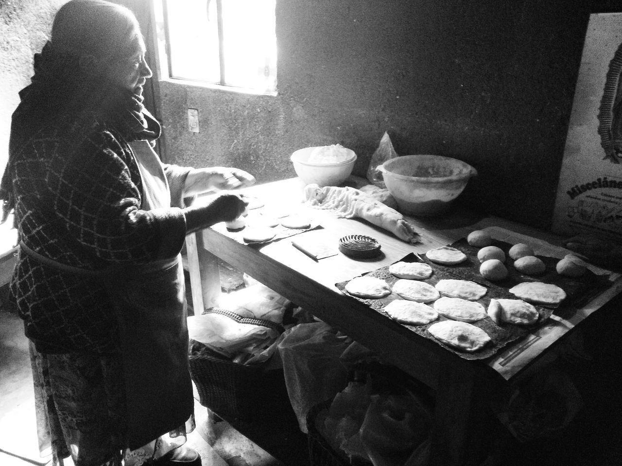 Blackandwhite Bread Roots Mexico Pinaldeamoles