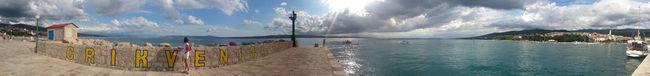 Beauty In Nature Blue Calm Cloud Cloud - Sky Crikvenica Croatia Day Lake Nature Non-urban Scene Outdoors Panoramic Remote Scenics Sea Seascape Sky Solitude Tranquil Scene Tranquility Water Waterfront Wide Shot