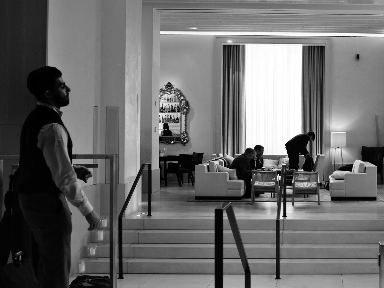 I miss this hotel... So peaceful ! The New York Edition. USA New York The Edition Hotel Lounge Lobby Peaceful Marriott Day Street Photography X100t Fujifilm