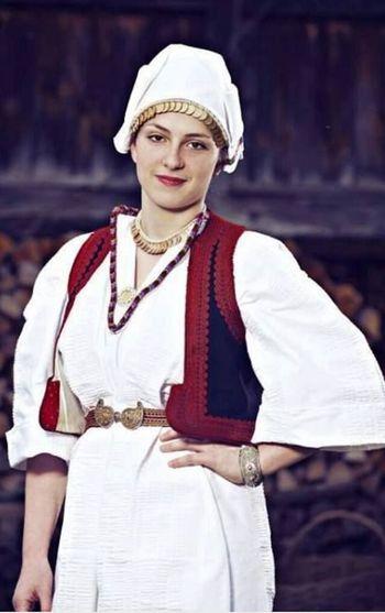 Bosnian Traditional Clothes Žepče Traditional Traditional Dress Traditional Dress In My Country